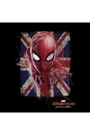 Marvel Spider-Man Far From Home British Flag Women's Sweatshirt