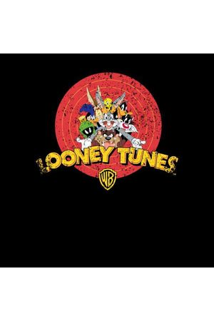 LOONEY TUNES Logo Distressed Women's Sweatshirt