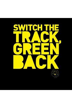 Danger Mouse Switch The Track Green Back Women's Sweatshirt