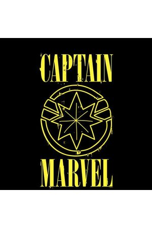Marvel Captain Grunge Logo Women's Sweatshirt