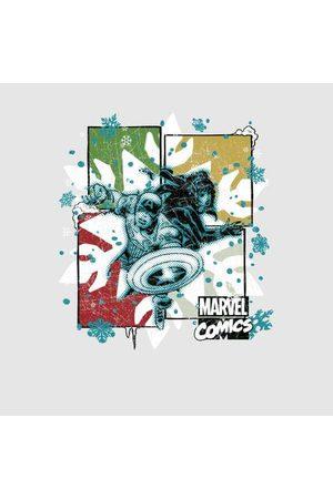 Marvel Black Widow Captain America Women's Christmas Sweatshirt