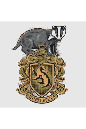 Harry Potter Hufflepuff Drawn Crest Women's T-Shirt