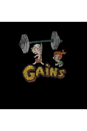 Hanna Barbera The Flintstones Distressed Bam Bam Gains Women's Sweatshirt