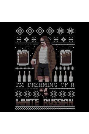 Big Lebowski The I'm Dreaming Of A White Russian Women's Sweatshirt