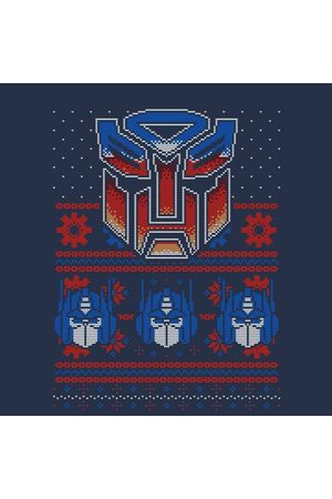 TRANSFORMERS Autobots Classic Ugly Knit Women's Christmas T-Shirt