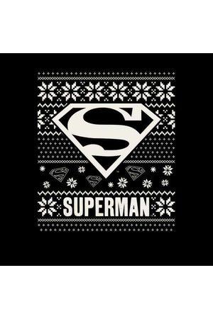 DC DC Superman Knit Pattern Women's Christmas Sweatshirt