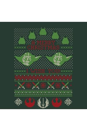 STAR WARS Merry Christmas I Wish You Knit Women's Christmas T-Shirt