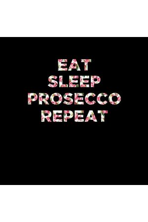By IWOOT Eat Sleep Prosecco Repeat Women's T-Shirt