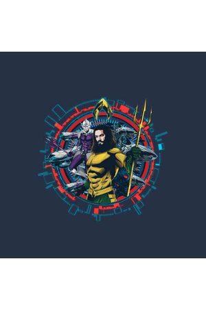 DC Aquaman Circular Portrait Women's Sweatshirt
