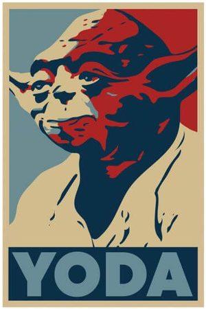 STAR WARS Yoda Poster Women's T-Shirt