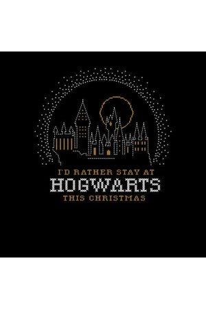 Harry Potter I'd Rather Stay At Hogwarts Women's Christmas Sweatshirt