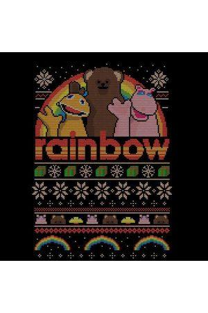 Rainbow Men Sweatshirts - Fairisle Christmas Sweatshirt Men's T-Shirt