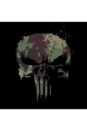 Marvel Camo Skull Women's Sweatshirt