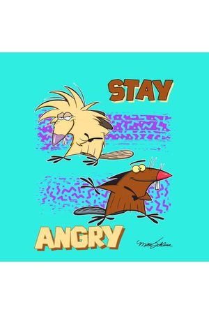 Nickelodeon The Angry Beavers Stay Angry Unisex T-Shirt