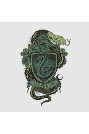 Harry Potter Slytherin Drawn Crest Women's T-Shirt