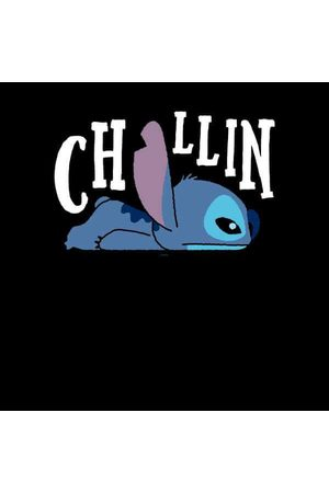 Disney Lilo And Stitch Chillin Women's Sweatshirt