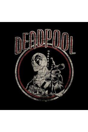 Marvel Deadpool Vintage Circle Women's Sweatshirt
