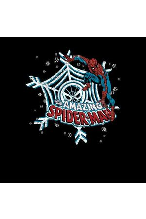 Marvel The Amazing Spider-Man Snowflake Web Women's Christmas Sweatshirt