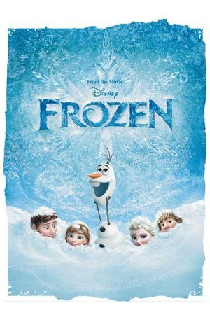 Disney Frozen Snow Poster Women's T-Shirt