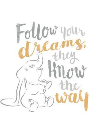 Disney Dumbo Follow Your Dreams Women's T-Shirt
