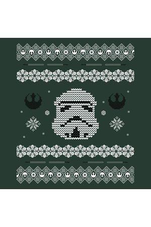 STAR WARS Stormtrooper Knit Women's Christmas T-Shirt