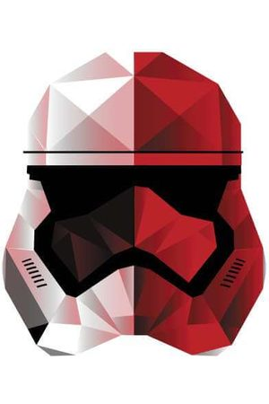STAR WARS Cubist Trooper Helmet Women's Sweatshirt