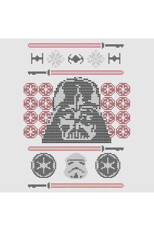 STAR WARS Darth Vader Face Knit Christmas Sweatshirt