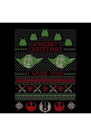 STAR WARS Merry Christmas I Wish You Knit Women's Christmas Sweatshirt