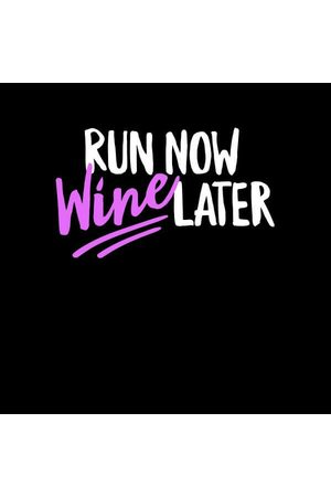 By IWOOT Run Now WIne Later Women's T-Shirt