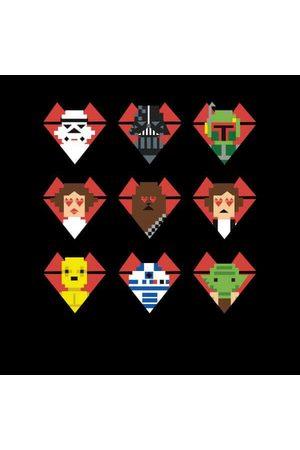 STAR WARS Valentine's Pixel Montage Sweatshirt