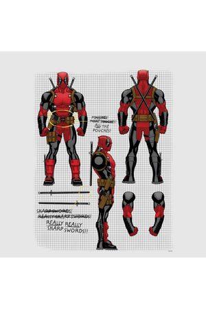 Marvel Deadpool Action Figure Plans Women's T-Shirt