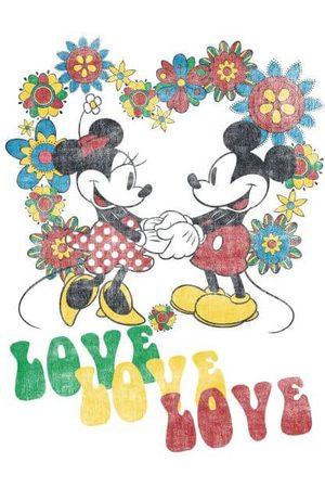 Disney Mickey Mouse Hippie Love Women's T-Shirt