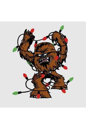 STAR WARS Tangled Fairy Lights Chewbacca Women's Christmas T-Shirt