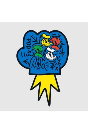 Disney Donald Duck Pop Fist Women's T-Shirt