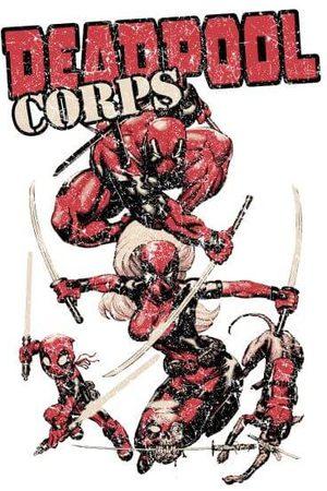 Marvel Deadpool Family Corps Women's T-Shirt