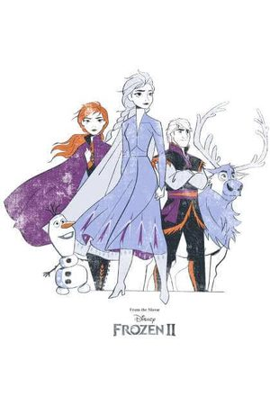Disney Frozen 2 Group Shot Women's Sweatshirt
