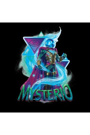 Marvel Spider-Man Far From Home Mysterio Energy Triangles Men's T-Shirt