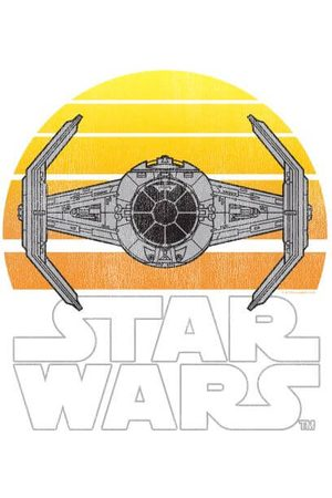 STAR WARS Sunset Tie Women's T-Shirt