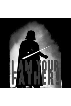 STAR WARS Darth Vader I Am Your Father Silhouette Sweatshirt