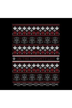 STAR WARS On The Naughty List Pattern Women's Christmas Sweatshirt