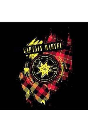 Marvel Captain Tartan Patch Women's T-Shirt