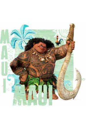 Disney Moana Maui Men's T-Shirt