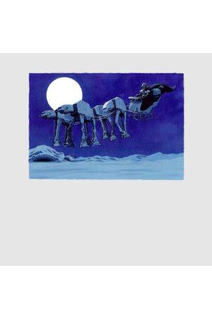 STAR WARS Darth Vader AT-AT Christmas Sleigh Christmas Sweatshirt