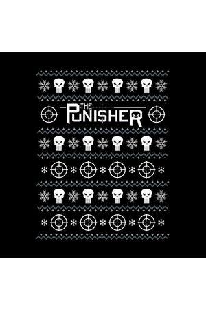 Marvel Punisher Women's Christmas T-Shirt