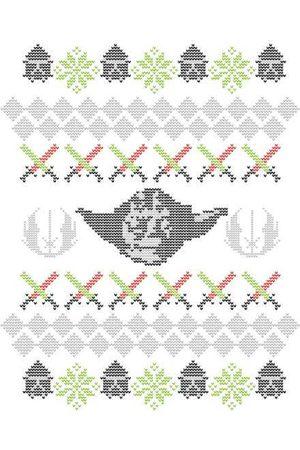 STAR WARS Yoda Christmas Knit Christmas Sweatshirt