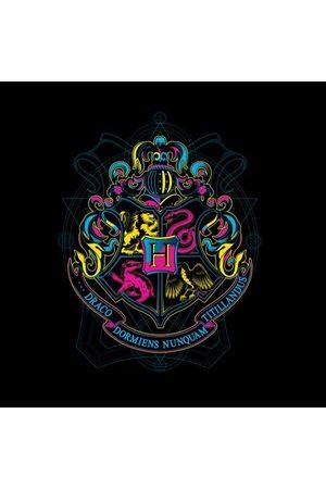 Harry Potter Hogwarts Neon Crest Women's T-Shirt