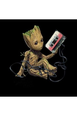 Marvel Guardians Of The Galaxy Groot Tape Christmas Sweatshirt