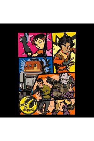 STAR WARS Rebels Comic Strip Men's T-Shirt