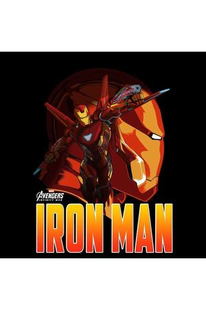 Marvel Avengers Iron Man Men's T-Shirt