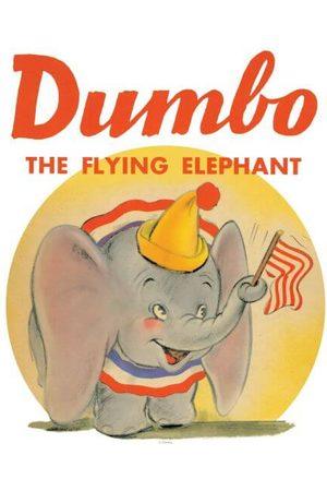 Disney Dumbo Flying Elephant Women's T-Shirt